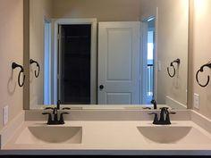 bathroom vanity with dual sinks