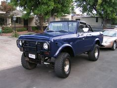 '72 - like the shine with the crome side mirrors.  Like the front brush guard.