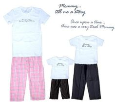 Once Upon a Storytime Pink Cotton Clothing Sets for Mommy and Coordinating Cotton Playwear Outfits for Kids