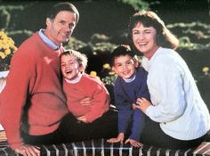 1992, Tom and Martha Carper pictured with sons Ben and Chris.