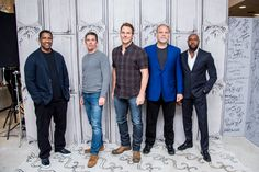 Actors Denzel Washington, Ethan Hawke, Chris Pratt, Vincent DÕOnofrio and Director Antoine Fuqua discuss 'The Magnificent Seven' during AOL Build at AOL HQ on September 2016 in New York City. See Movie, Movie Tv, Magnificent Seven 2016, Actor Denzel Washington, Ethan Hawke, Chris Pratt, Vanity Fair, Sexy Men, Actors