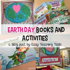 It's so important to teach our students about caring for the Earth. I love that Earth Day encourages it, but it's something we can do with our students the entire school year. Earth Day Activities, Learning Activities, Holiday Activities, Classroom Activities, Classroom Ideas, Weather Science, Teaching Tools, Teaching Ideas, Teaching Resources