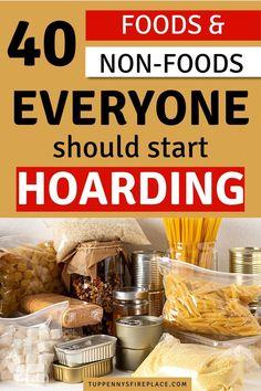 Emergency Food Kits, Emergency Preparedness Food Storage, Emergency Preparation, Emergency Planning, Emergency Supplies, Meal Planning, Survival Food List, Survival Prepping, Canned Food Storage