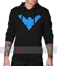 Nightwing Pullover Black Hoodie