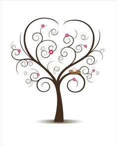 Fingerabdruck Baum Vorlage Andere Motive 2