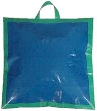 Duct Tape Sit-Upon. Newspaper (folded in half) or 2 coasts stacked on top of each other. Put into plastic bag. cover entire outside with coloured duct tape