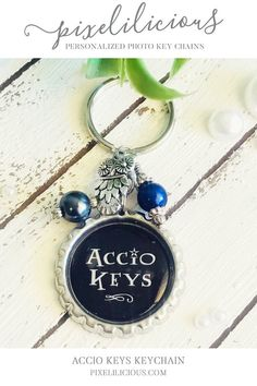 Harry Potter Gift Accio Keys Keychain For Her Ravenclaw Key Chain Custom Best Friend Gifts Women Summoning Spell