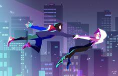 Spider Art, Spider Verse, Siper Man, Marvel Spider Gwen, Miles Morales Spiderman, Spiderman Pictures, Marvel Wallpaper, Amazing Spiderman, Marvel Art