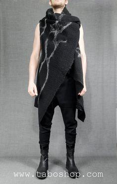 SIMONA TAGLIAFERRI WMD12 Vest with details in metal 100% wool