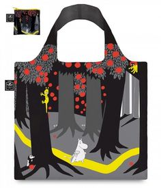 """Muumi Eco Bag """"Milkman"""", värikäs"""