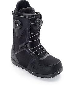 Burton Concord Dual Boa Black Snowboard Boots at Zumiez : PDP