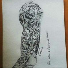 Forearm Tattoo Quotes, Forarm Tattoos, Forearm Sleeve Tattoos, Chicano Tattoos, Best Sleeve Tattoos, Boy Tattoos, Feather Tattoos, Black Tattoos, Body Art Tattoos
