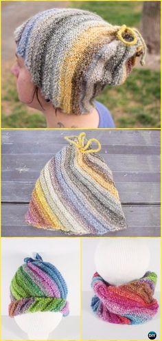 Knit Emergency Hat Free Pattern - Knit Beanie Hat Free Patterns