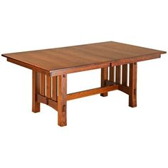 Aspen Trestle Extension Table – Amish Tables