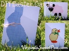 Easter will be here before we know it.  Sending cards to friends and relatives is a tradition that I enjoy.  This year I thought it would be fun to make my own cards to send.  The cards that I designed are easy to make and require materials that you probably already have around your house. Supplies: Easter …