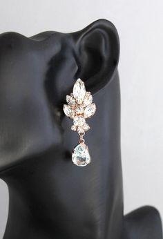 Aquamarine Chandelier Bridal Chandeliers Blue Sky Earrings | Etsy
