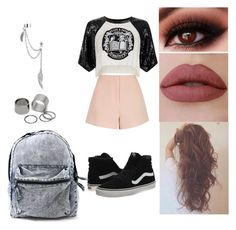"""Untitled #187"" by rhay-q ❤ liked on Polyvore featuring Vans, Filles à papa, Finders Keepers, Bling Jewelry and Pieces"