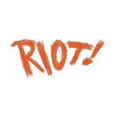 Riot image by rzrbladekiss15 on Photobucket ❤ liked on Polyvore