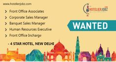 New #jobs in Sales, Front Office, & Human Resources in #NewDelhi!  Note: Relevant experience and good communication skills are a must. Interested candidates can apply with their updated resume here:https://goo.gl/8uMsaz