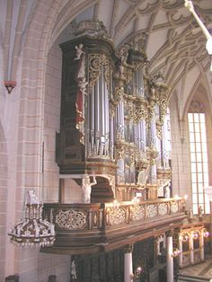 1739 Trost organ at Altenburg Castle, Germany