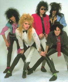 "Let's start representing with the 1980s. ""Team"" hopping, courtesy of Hanoi Rocks."