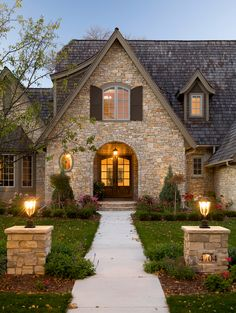 French Style Home Exterior
