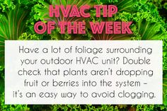 Keep your #HVAC unit free of debris by maintaining outdoor plants! #Gardening #Landscaping #DIY