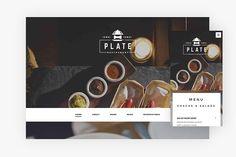 Plate WordPress Theme by ThemeBeans on @creativemarket