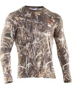 Under Armour Men's Camo Charged Cotton Long Sleeve Tee