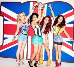 Little mix. Love their style!
