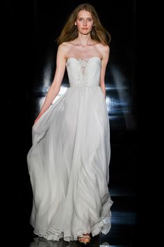 Reem Acra - Bridal Collection - Look 1 – Erika