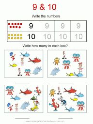 math worksheet : dr seuss math worksheets  dr seuss  pinterest  math worksheets  : Dr Seuss Kindergarten Worksheets