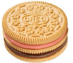 Neapolitan Triple Double Oreo - yes they are real!