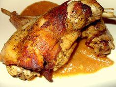 Csiperke blogja: Sörben sült nyúlcombok Hungarian Recipes, Hungarian Food, Food Inspiration, Pork, Turkey, Hunters, Cooking, Kale Stir Fry, Hungarian Cuisine