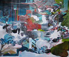 "Saatchi Online Artist Diana Roig; Painting, ""SEW"" #art"