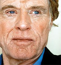 """""""I'm not a facelift person. I am what I am.""""  Robert Redford"""