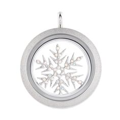 Holiday 2014 New Snowflake window plate with Sparkle twist face. #o2holidaystyleguide #origamiowl