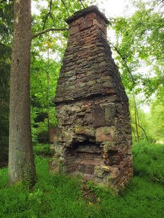 Old Chimneys With A Past Story