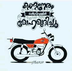 ....മോഹം.... Rx 100 Yamaha, Knight Drawing, Yamaha Rx100, Malayalam Quotes, Beginner Painting, Royal Enfield, Typography Quotes, My Spirit, Goa