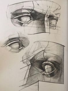 Drawing Heads, Life Drawing, Figure Drawing, Anatomy Sketches, Drawing Sketches, Art Drawings, Drawing Tips, Anatomy Sculpture, Sculpture Art