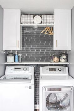 """Excellent """"laundry room storage diy small"""" information is offered on our website. Check it out and you wont be sorry you did Mudroom Laundry Room, Laundry Room Remodel, Farmhouse Laundry Room, Small Laundry Rooms, Laundry Room Organization, Laundry Room Design, Laundry In Bathroom, Organization Ideas, Laundry Closet Makeover"""