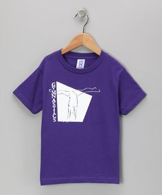 Take a look at this Peanuts & Monkeys Purple 'Gymnastics' Tee - Toddler & Girls by Peanuts & Monkeys on #zulily today!