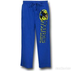 Images of Wolverine Logo Blue Sleep Pants