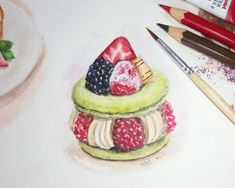 Faber Castell, Acrylic Colors, Avocado Toast, Colours, Watercolor, Cat, Inspired, Breakfast, Instagram