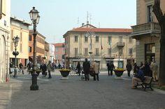 Piazza Libertà Saronno, Italy by Saronno City Guide