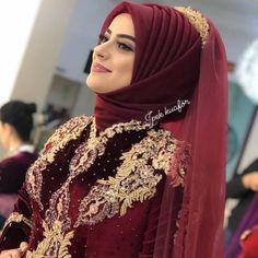 Image may contain: one or more people and close-up Hijab Engagement Models 2020 Bridal Hijab, Disney Wedding Dresses, Pakistani Bridal Wear, Pakistani Wedding Dresses, Bridal Dresses, Bridal Mehndi, Modest Fashion Hijab, Stylish Hijab, Hijab Style Dress