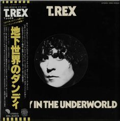 For Sale - T-Rex / Tyrannosaurus Rex Dandy In The Underworld - Die-Cut slv + Obi Japan Promo  vinyl LP album (LP record) - See this and 250,000 other rare & vintage vinyl records, singles, LPs & CDs at http://eil.com
