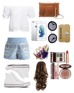 """Untitled #12"" by sdbeautyandfashion on Polyvore featuring Chicwish, Boohoo, Converse, Rebecca Minkoff, Miu Miu and Charlotte Tilbury"