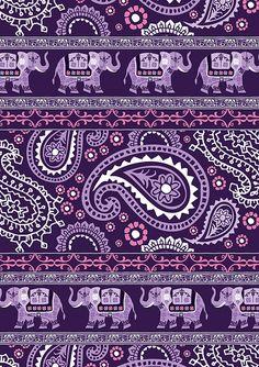 Paisley & Elephants Elephant Wallpaper, Wallpaper Iphone Cute, Animal Wallpaper, Cute Wallpapers, Wallpaper Backgrounds, Mac Wallpaper, Paisley Design, Paisley Pattern, Textures Patterns