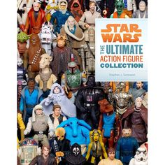 Buy Star Wars: The Ultimate Action Figure Collection by Stephen J Sansweet at Mighty Ape NZ. Here at last is the complete and definitive collection of the more than Star Wars(R) action figures produced over the last 35 years. Fans and co. Figurines D'action, Mark Hamill, Darth Maul, Star Wars Collection, Luke Skywalker, The Story Of Luke, Libros Star Wars, Science Fiction, Jouet Star Wars